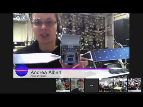 Behind the Scenes at SLAC: Google+ Virtual Field Trip