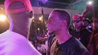 "Byron Blake vs Hitman Holla - Song Playing Between Rounds Is On This Channel!!!! ""ENTzzzzz"""