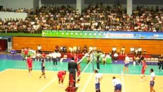 2010年世界盃男子排球錦標賽資格賽中華隊V.S哈薩克第四局片段