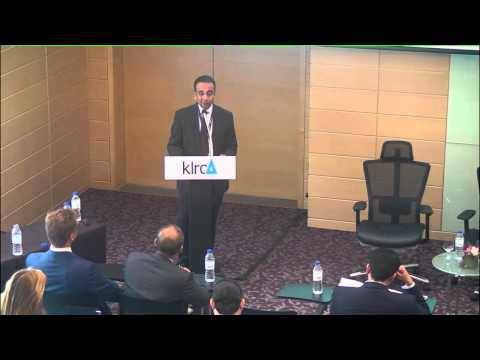 I-Arbitration Conference - Importance of Arbitration in Islamic Finance