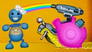 ДИНОЗАВР, РАДУГА и УЛИТКА ПРОТИВ АНТИСТРЕССА ! Эксперименты с игрушкой #27 #крутилкины