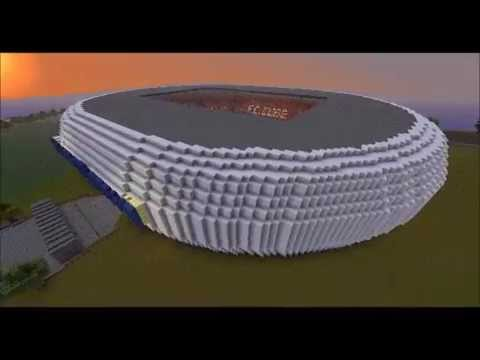 minecraft allianz arena 1 1 nachbau innen nicht 1 1 mit download youtube. Black Bedroom Furniture Sets. Home Design Ideas