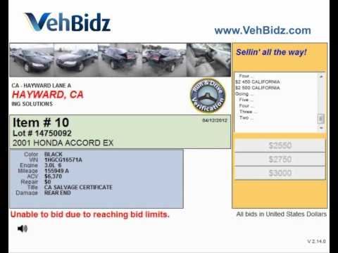 Auto auction Hayward, CA offers cars for sale