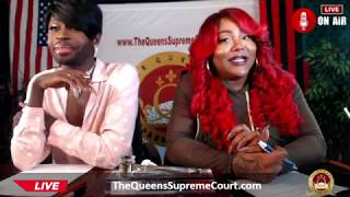 "Ts Madison + Funky Dineva  ""The Queens Supreme Court"" Dinevas Back! 9/17/18 😵😵"