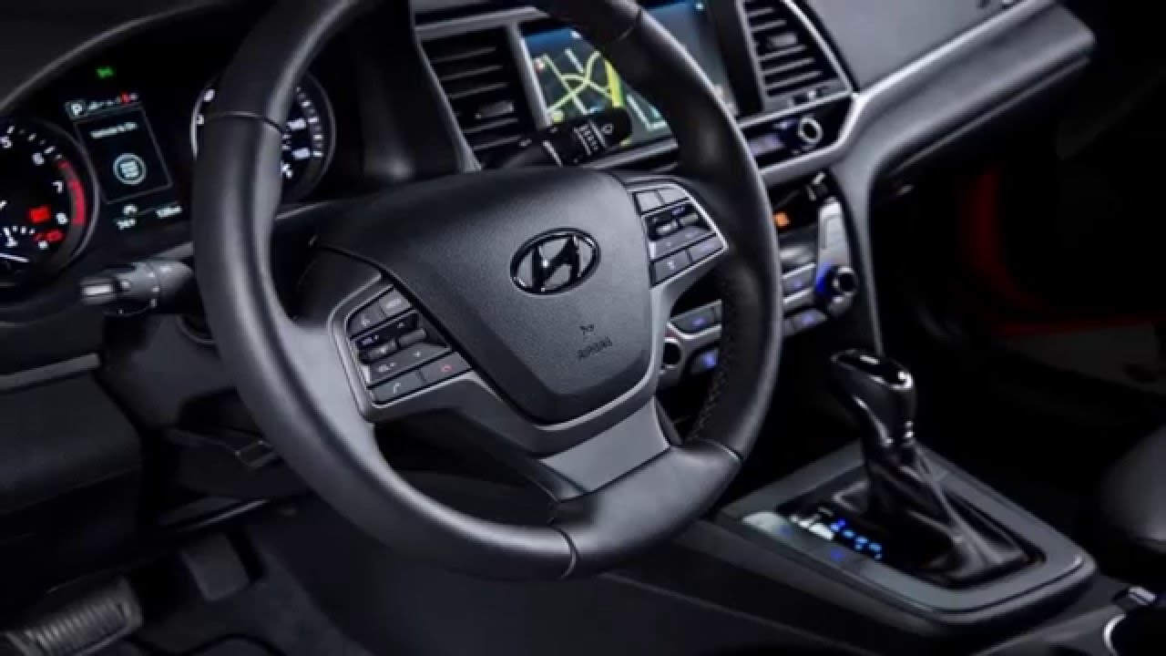 2017 Hyundai Elantra Interior Review