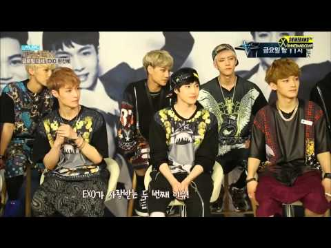 [ENG  SUB CC] 130910 EXO The Music Interview 더 뮤직 인터뷰 full