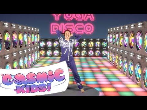 Cosmic Kids Yoga Disco | Washing Machine Song!
