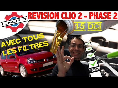 revision clio 2 phase 2 1 5 dci youtube. Black Bedroom Furniture Sets. Home Design Ideas