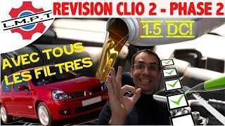 Revision clio 2 phase 2 - 1.5 Dci