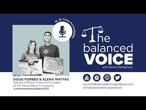 The Balanced Voice Ep. 32 | Doug Forbes and Elena Matyas - Camp Accountability