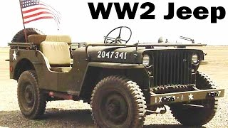 WW2 Jeep | Autobiography of a Jeep | 1943 | Willys MB Military Jeep | Short Film