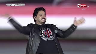 احتفالية مصرنا  - مصطفي حجاج يغني أغنية خطوة