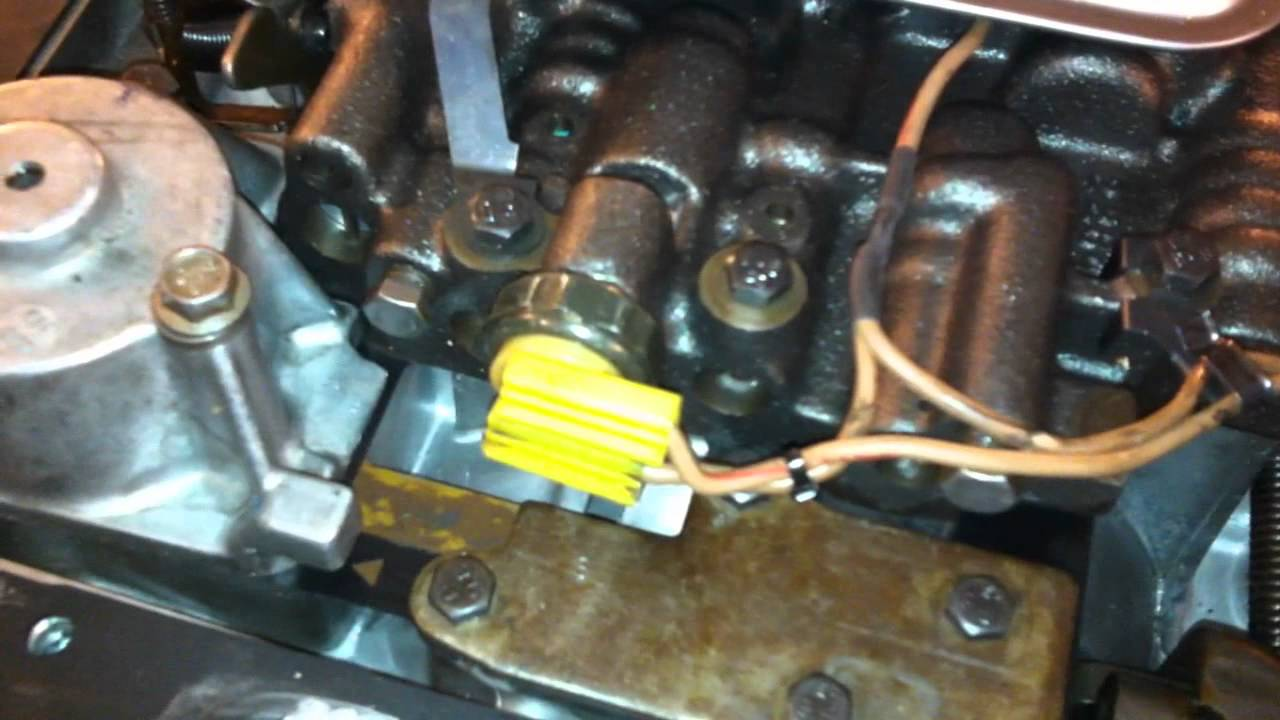 Lock Up Converter Wiring Diagram Hot Rod Just Another Hurst Line 700r4 Torqe Youtube Rh Com Output