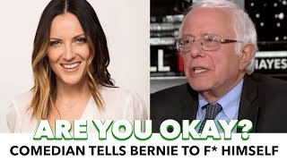 Bernie Finally Responds To Hillary's Book; Comedian Freaks Out