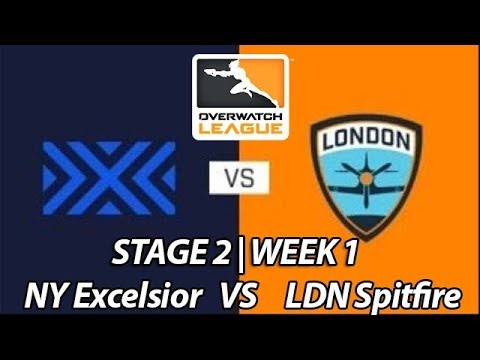 Overwatch League Highlights   London Spitfire vs New York Excelsior   Feb 23/2018