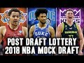 Post Lottery 2018 NBA Mock Draft | Luka Doncic To The Kings?