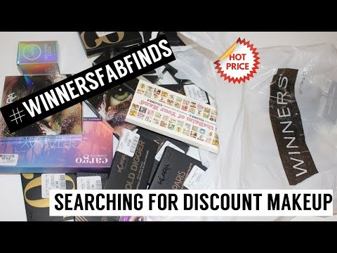WINNERS HAUL | FINDING DISCOUNT MAKEUP | #WINNERSFABFINDS