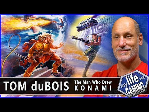 Tom duBois - The Man Who Drew Konami / MY LIFE IN GAMING