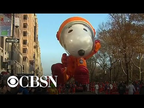 Millions attend Macy's Thanksgiving Day Parade in New York City