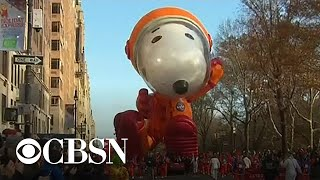Millions attend Macy's Thanksgiving Day Parade in New York City Video