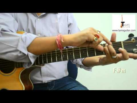Ajeeb Dastan guitar lesson with cool chords (www.tamsguitar)