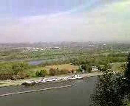 Uitzicht vanaf Fort Eben-Emael.