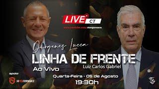 Linha de Frente com Diógenes Lucca - Convidado Luiz Carlos Gabriel