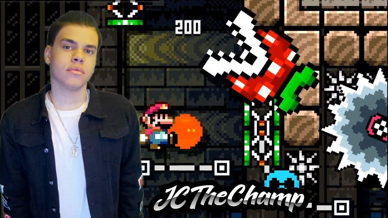 JC TheChamp   APAREZCO con CAMARA Despues De 4 MESES Con Mi Nivel JC's House Of Kaizo!!!