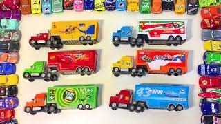 Тачки Машинки Трейлеры Грузовики Игрушки Дисней Видео для Детей
