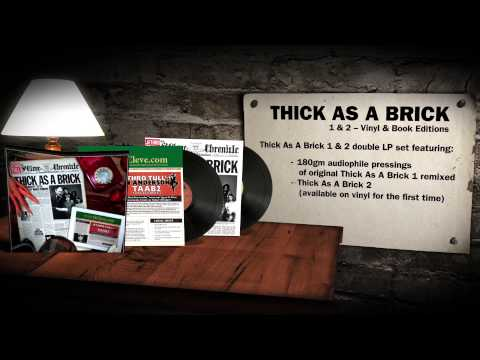 Jethro Tull - Thick As A Brick 40th Anniversary Editions Walkthrough
