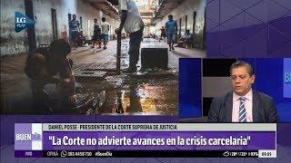 Según Daniel Posse, la Corte no ve avances en la crisis carcelaria