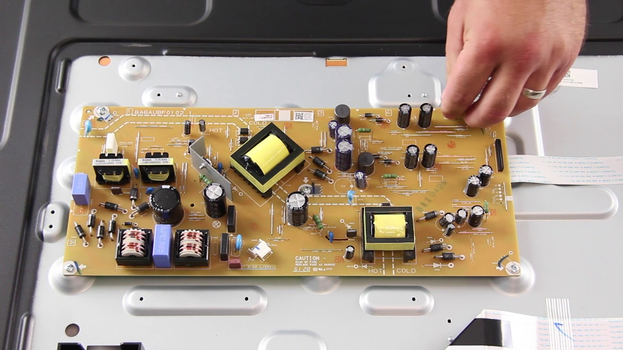 small resolution of sanyo 50 led tv repair how to replace all boards for tv repair model fw50d36f