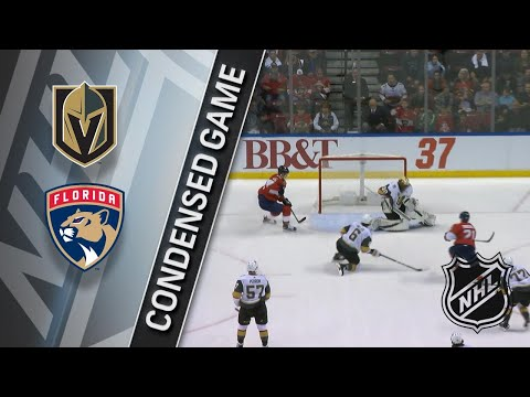 01/19/18 Condensed Game: Golden Knights @ Panthers