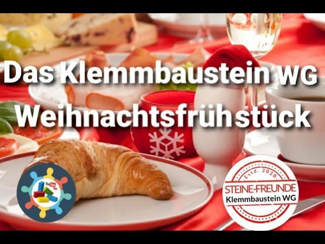 Das Klemmbaustein WG Weihnachtsfrühstück