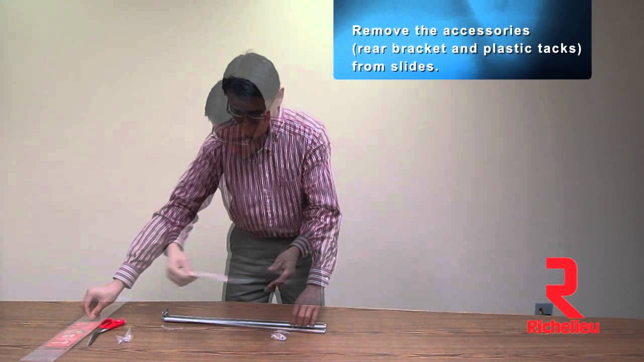 Center Mount Slide How To Separate Drawer Slide From