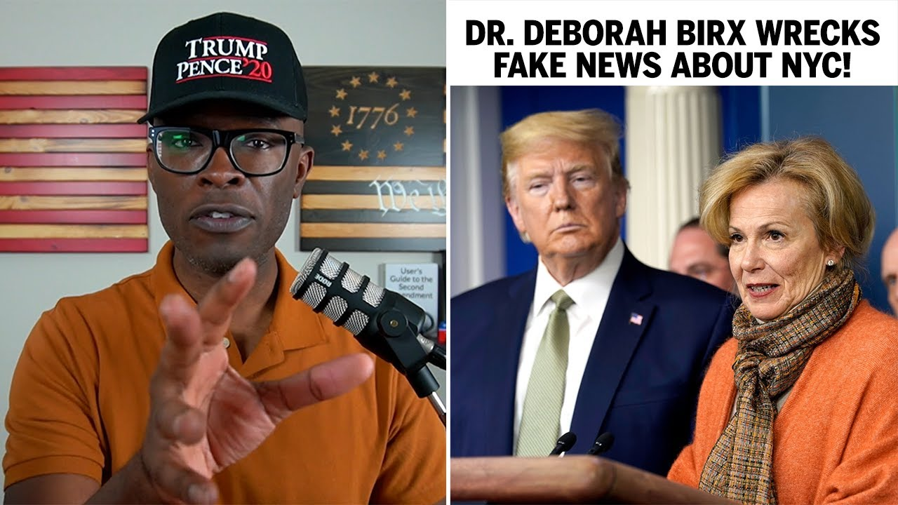 Dr Deborah Birx DEBUNKS Fake NYC Hospital Stories!