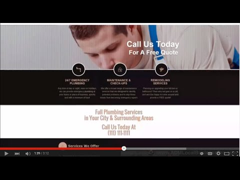 WordPress Theme For Local Businesses - ADM Local Business Pro - YouTube