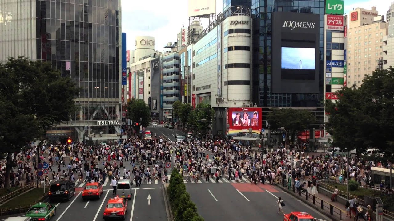 how to get to shibuya crossing