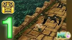 Temple Run: Gameplay Walkthrough Part 1 - Escaping (iOS, Android)