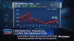 Prudential Financial shakes off government's 'too-big-to-fail' label