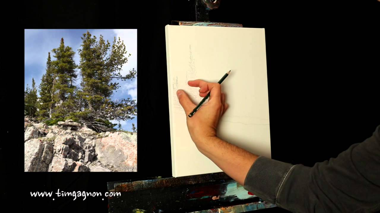 painting tips and tricks measuring proportion and negative space in