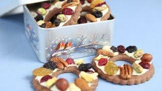 шоколадное печенье рецепты новогодние