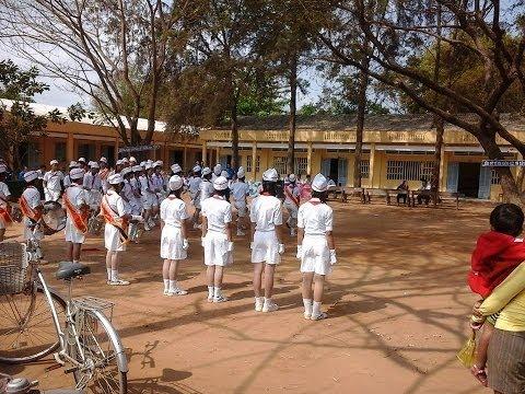 HÔI THI NGHI THỨC ĐỘI VÒNG HUYỆN NĂM 2014 - TRƯỜNG DTNT THCS CẦU NGANG TỈNH TRÀ VINH