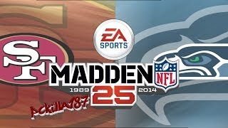 Madden 25 49ers vs Seahawks Another Seattle Quitter