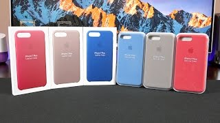 New Apple iPhone Cases: (Spring 2017 Colors)