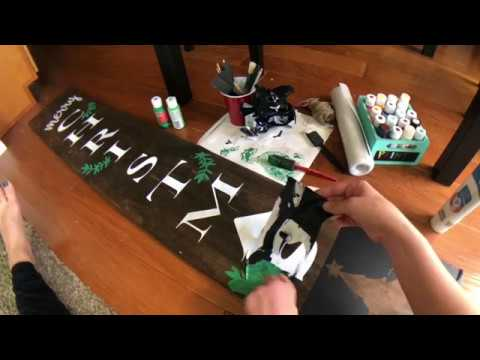 Part 2 - How to Make a Reversible Holiday Wood Sign
