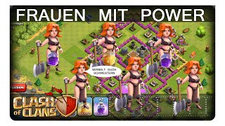 FRAUEN MIT POWER || CLASH OF CLANS | Let's Play CoC | Deutsch