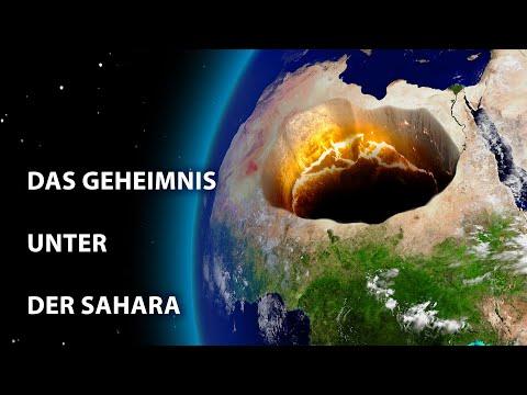 Etwas Riesiges liegt unter der Wüste Sahara