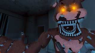 BIENVENIDO NIGHTMARE FREDDY... - Five Nights at Freddy's 4 Doom Mod (FNAF Game)