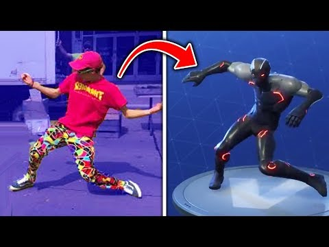 Top 10 Fortnite Dances IN REAL LIFE! (Fortnite Battle Royale